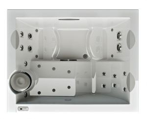 Бассейн Jacuzzi Unique Встраиваемый spa-бассейн Jacuzzi Unique Built-In Top с гидро- и аэромассажем